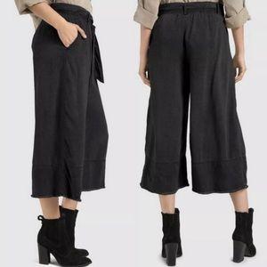 Anthro Cloth & Stone Gray Namua Cropped Pants